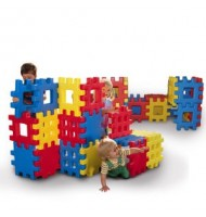 Duże klocki Big Waffle® Blocks Little Tikes