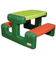 Stolik  Junior Picnic Table duży- Evergreen Little Tikes