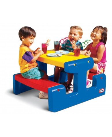 Stolik Junior Picnic Table - Primary Little Tikes