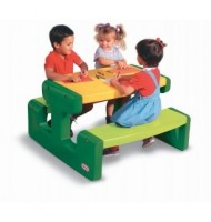 Stolik Picnic Table - Evergreen Little Tikes