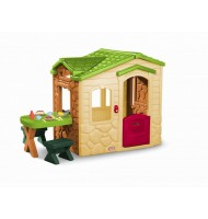 Domek dla dzieci Picnic on the Patio Playhouse - Natural Little Tikes